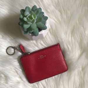 Coach Bags - Coach Keychain Skinny Wallet-Gently Used